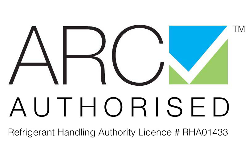 ARC Authorised - Refrigerant Handling Authority Licence # RHA01433